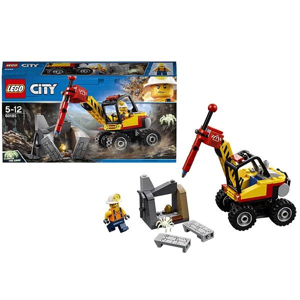 Lego City 60185 Конструктор Лего Город Трактор для горных работ lego city 60110 лего город пожарная часть
