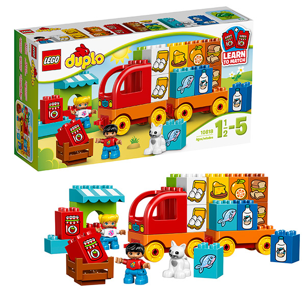Lego Duplo 10818 Конструктор Лего Дупло Мой первый грузовик lego duplo конструктор мой первый автобус 10603