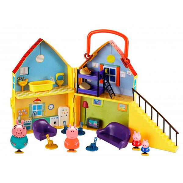 """Peppa Pig 20836 Свинка Пеппа Игровой набор """"Загородный дом Пеппы"""""""