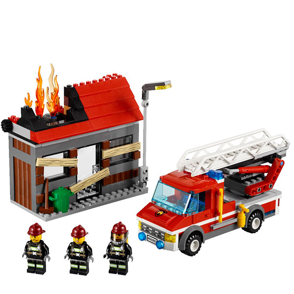 LEGO City 60003 Конструктор ЛЕГО Город Тушение пожара