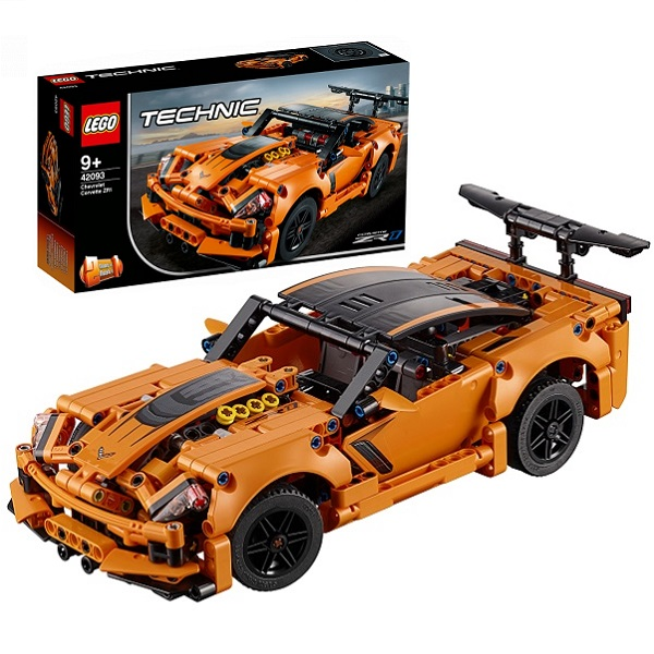 Фото - LEGO Technic 42093 Конструктор ЛЕГО Техник Chevrolet Corvette ZR1 lego technic 42076 конструктор лего техник корабль на воздушной подушке
