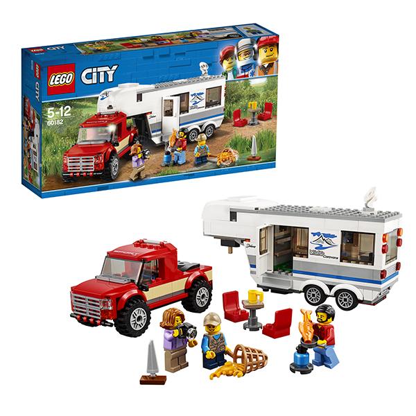 Lego City 60182 Конструктор Лего Город Дом на колесах lego city 60110 лего город пожарная часть