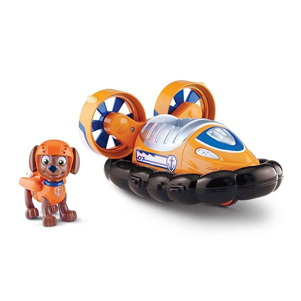 Paw Patrol 16601-Zum Щенячий патруль Машинка спасателя и щенок (Зума) spin master фигурка спасателя с рюкзаком трансформером щенячий патруль spin master 20070732 16655