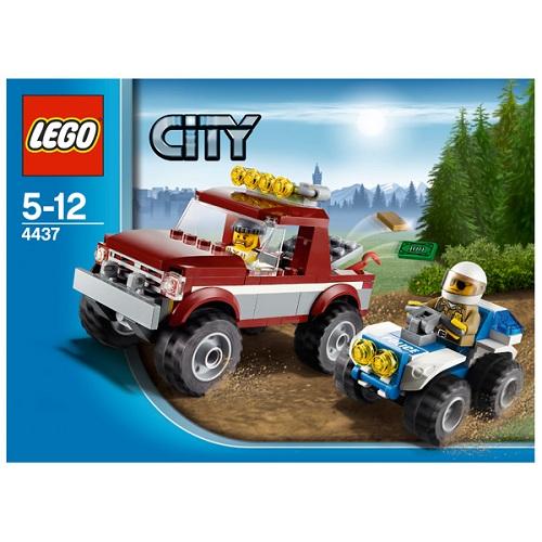 LEGO City 4437 Конструктор ЛЕГО Город Полицейская погоня