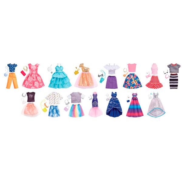 Фото - Mattel Barbie FND47 Барби Дневной и вечерний наряд в комплекте набор школьниика barbie
