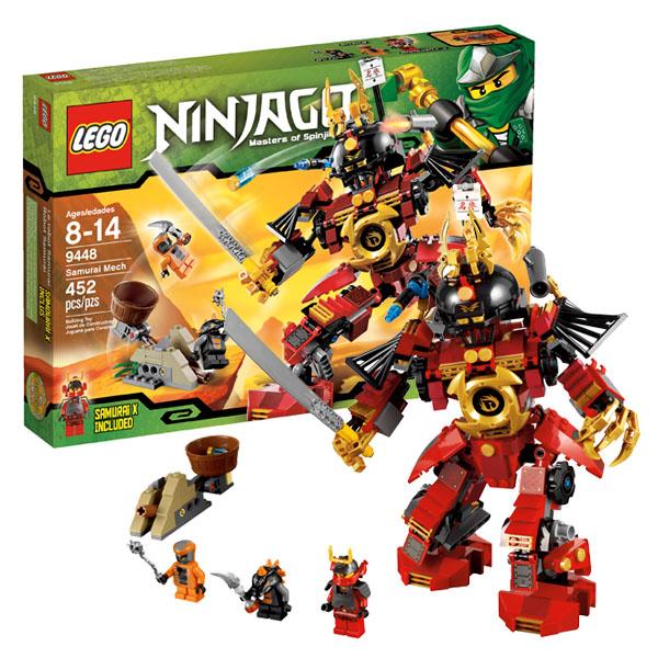 Lego Ninjago 9448_1 Конструктор Лего Ниндзяго Механический самурай