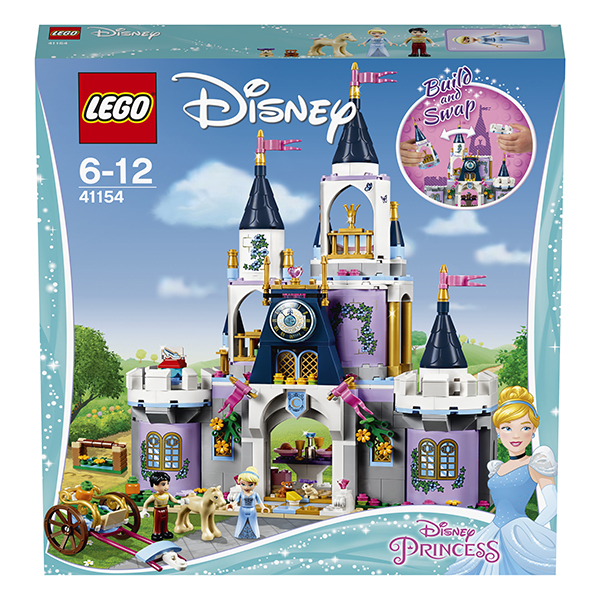 Лего Принцессы Дисней Lego Disney Princess 41154 Конструктор Волшебный замок Золушки