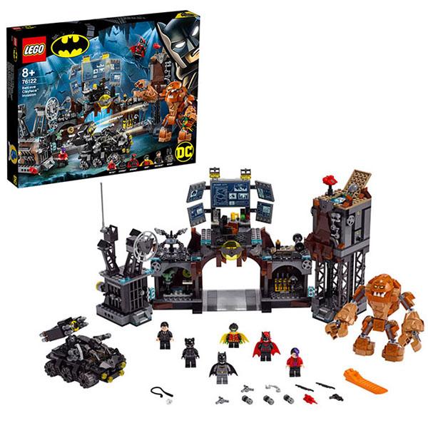 LEGO Super Heroes 76122 Конструктор ЛЕГО Супер Герои Вторжение Глиноликого в бэт-пещеру lego super heroes 76119 конструктор лего супер герои бэтмобиль погоня за джокером