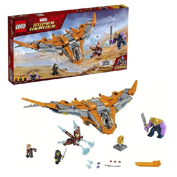 Lego Super Heroes 76107 Конструктор Лего Супер Герои Танос: последняя битва lego super heroes 76085 конструктор лего супер герои битва за атлантиду