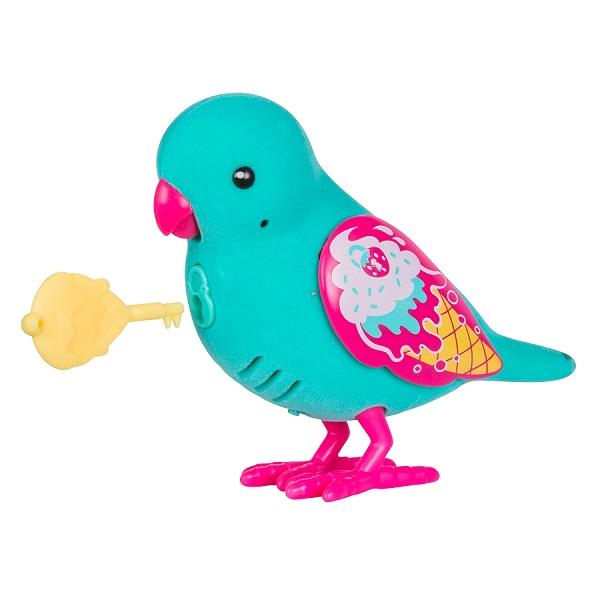 Little Live Pets 28394 Интерактивная птичка голубая интерактивная игрушка digibirds птичка с мерцающими глазами
