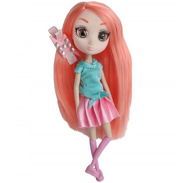 Shibajuku Girls HUN6879 Кукла Мики 2, 15 см кукла shibajuku girls мики 15 см