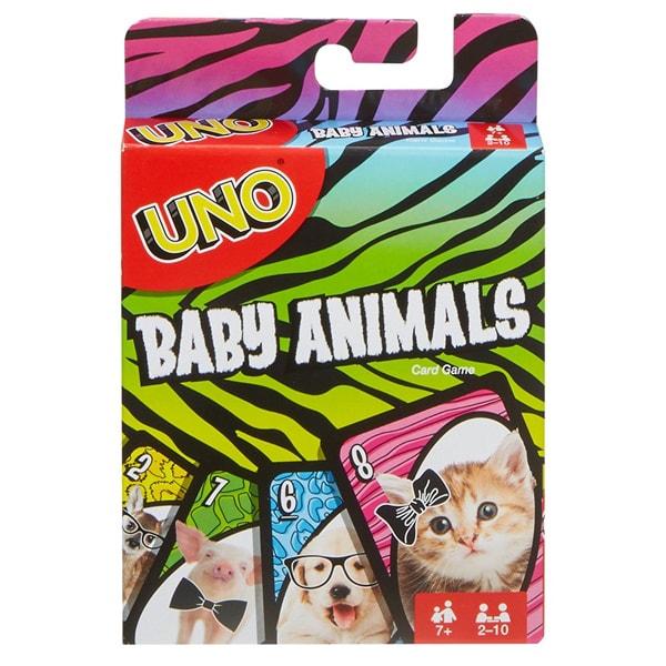 Mattel Games FLK78 УНО Маленькие животные