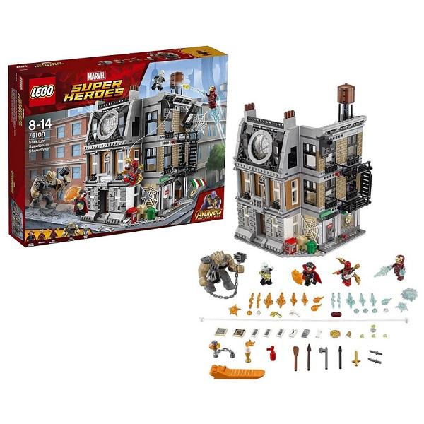 Lego Super Heroes Решающий бой в Санктум Санкторум 76108
