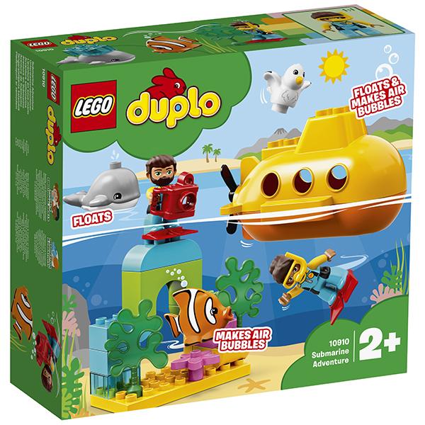 LEGO DUPLO 10910 Конструктор ЛЕГО ДУПЛО Путешествие субмарины