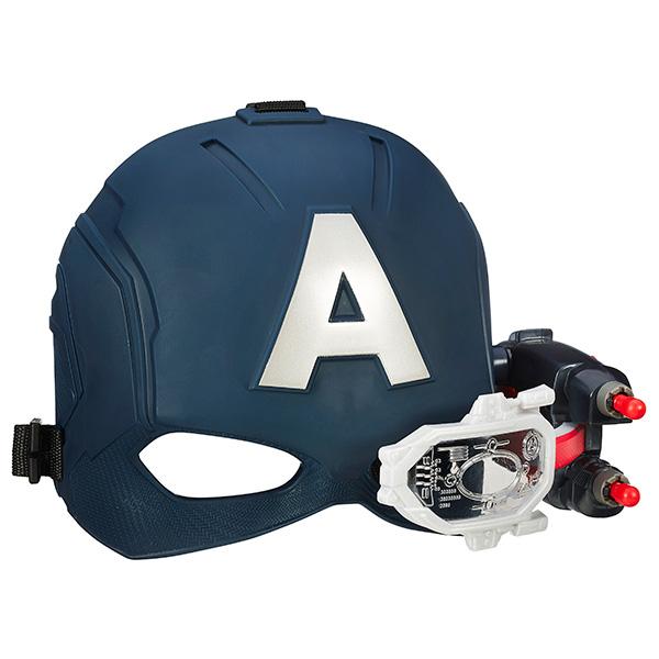 Hasbro Avengers B5787 Электронный шлем Первого Мстителя hasbro play doh игровой набор из 3 цветов цвета в ассортименте с 2 лет