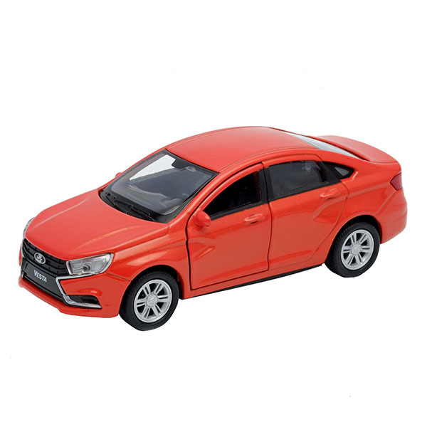 Welly 43727 Велли Модель машины 1:34-39 LADA Vesta автомобиль welly lada vesta 1 34 39 красный 43727