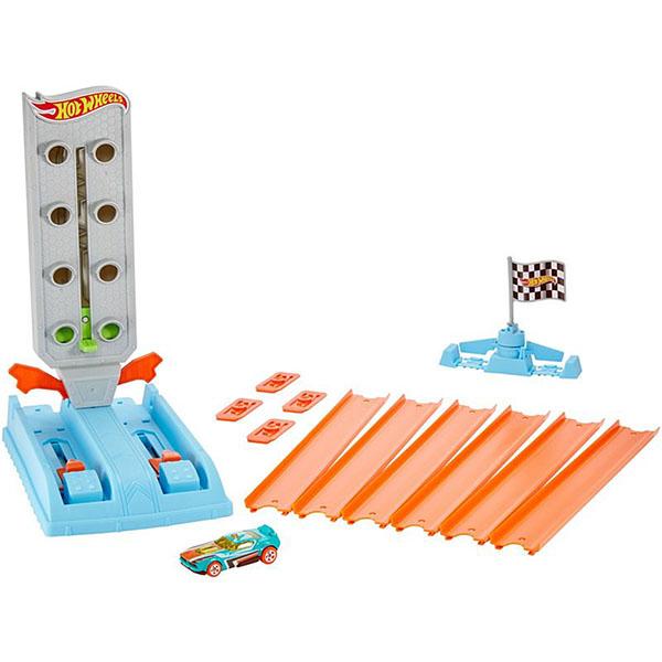 Mattel Hot Wheels GBF82 Хот Вилс Гоночный игровой набор mattel hot wheels dwk98 хот вилс трасса