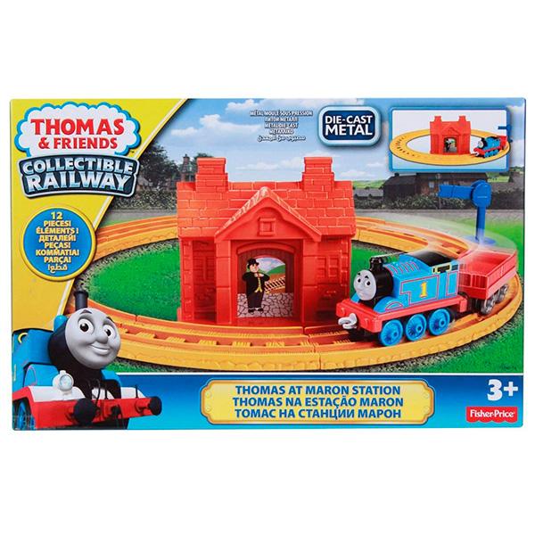 "Thomas & Friends BHR92 Томас и друзья Игровой набор ""Томас на станции Марон"""