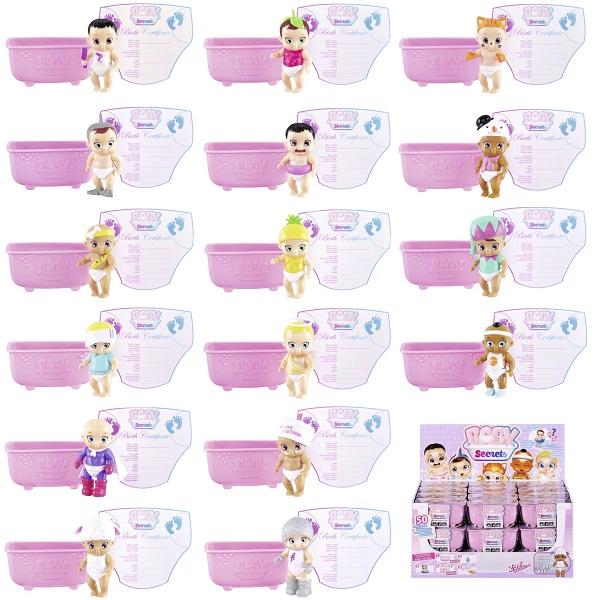 Zapf Creation Baby Secrets 930-236 Бэби Секрет Кукла с ванной, 2 волна ( в ассортименте) zapf creation baby secrets 930 328 бэби секрет набор с садовыми качелями