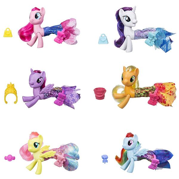 Hasbro My Little Pony C0681 Май Литл Пони Мерцание Пони в волшебных платьях hasbro play doh игровой набор из 3 цветов цвета в ассортименте с 2 лет