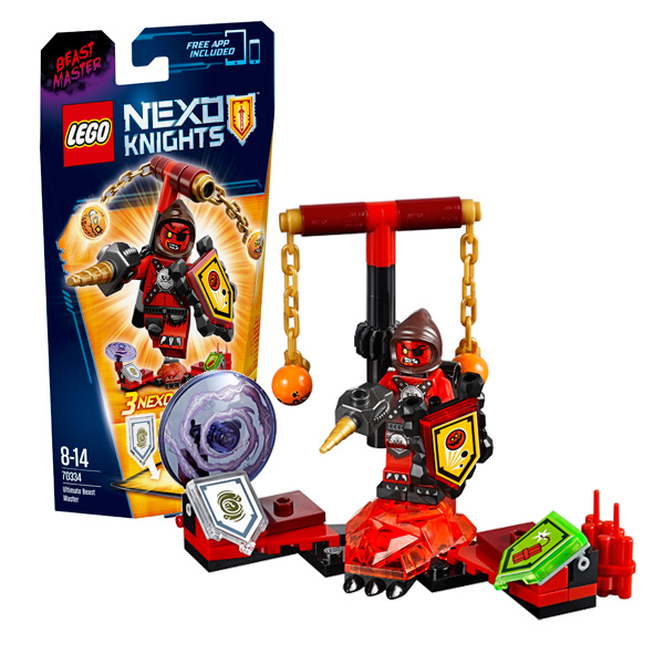 Lego Nexo Knights 70334 Конструктор Лего Нексо Предводитель монстров – Абсолютная сила ластики lego набор ластиков 4 шт lego nexo knights рыцари нексо