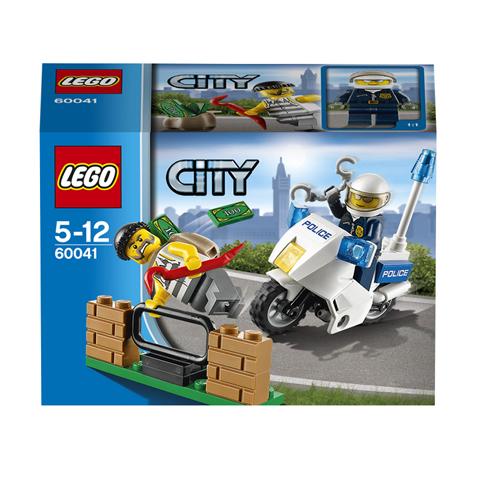 LEGO City 60041 Конструктор ЛЕГО Город Погоня за воришкой