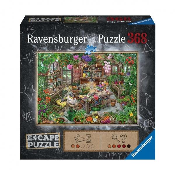 """Ravensburger R16530 Пазл-квест """"Оранжерея"""" 368 эл."""