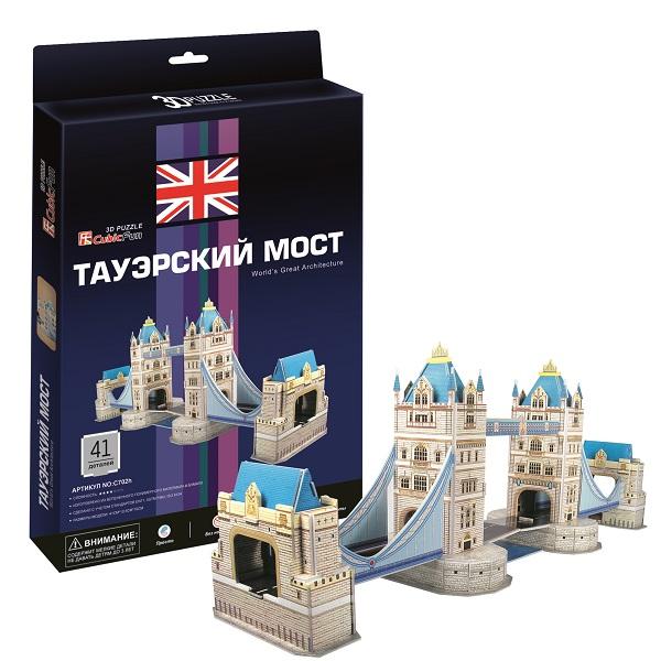 Cubic Fun C702h Кубик фан Таэурский мост (Лондон) cubic fun mc163h кубик фан кижи россия
