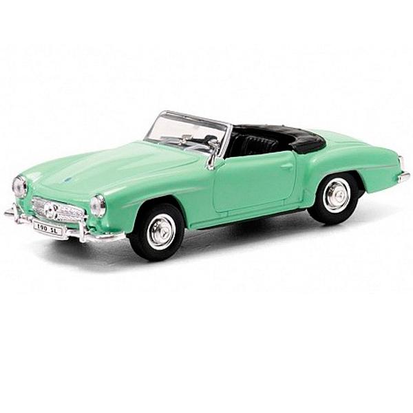 Welly 42311 Велли Модель винтажной машины 1:34-39 Mercedes Benz 190SL 1955 цена