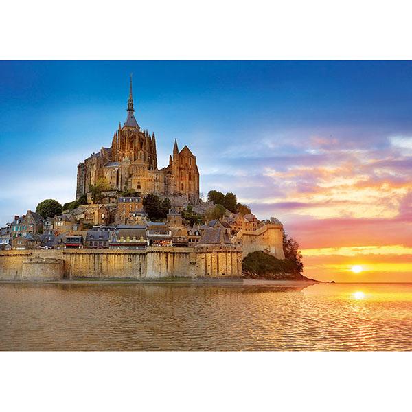 """цена на Educa 17665 Пазл 1000 деталей """"Мон-Сен-Мишель, Франция"""""""