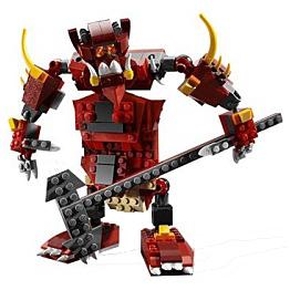 Конструктор Лего Криэйтор 6751 Конструктор Огненная легенда