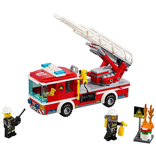 LEGO City 60107 Конструктор ЛЕГО Город Пожарный автомобиль с лестницей