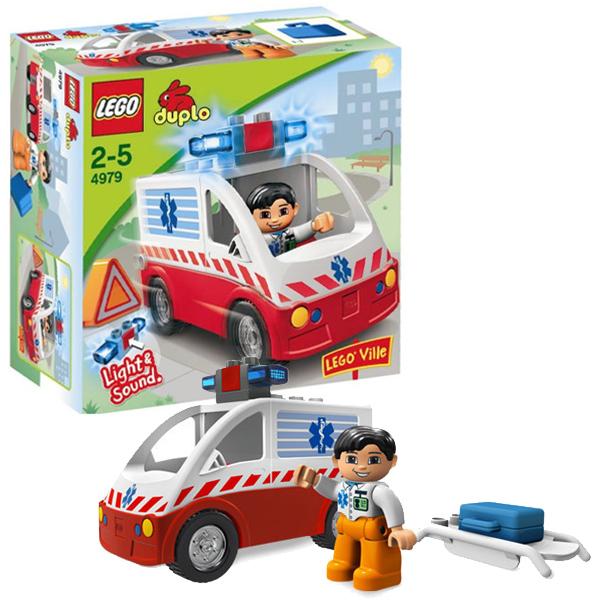 Лего Дупло 4979 Машина скорой помощи