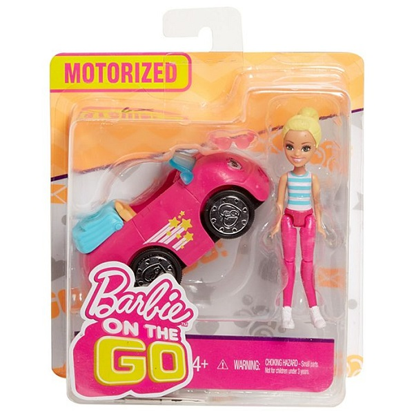 "Mattel Barbie FHV77 Барби Кукла ""В движении"" Автомобиль и кукла"