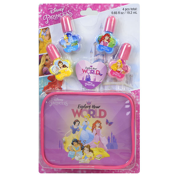Markwins 1599024E Princess Игровой набор детской декоративной косметики для ногтей на блистере