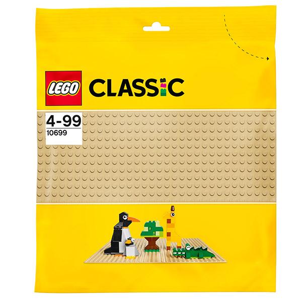 Lego Classic 10699 Лего Классик Строительная пластина желтого цвета