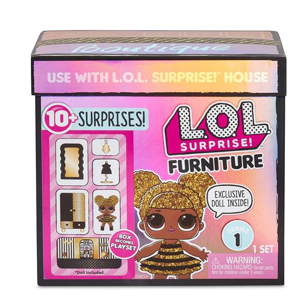 L.O.L. Surprise 564119 Игровой набор с куклой, гардероб