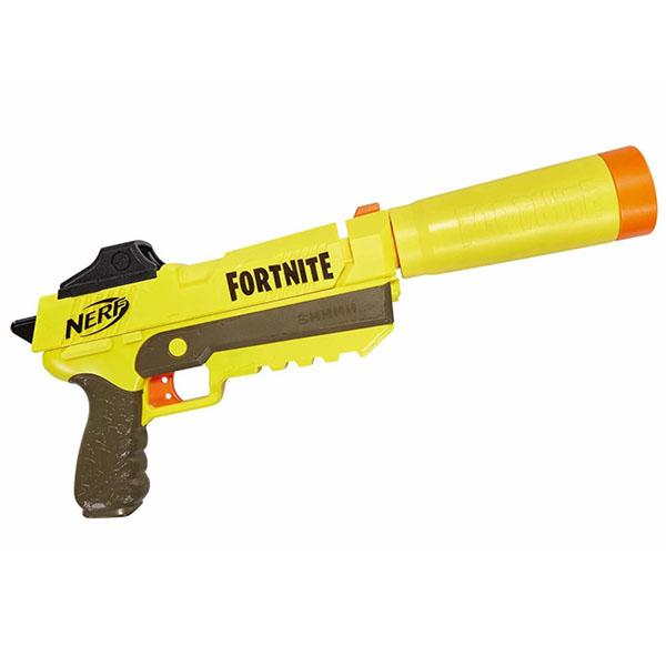 Hasbro Nerf E6717 Бластер Нерф Фортнайт Спрингер пистолет bauer спецагент в коробке с тремя стрелами