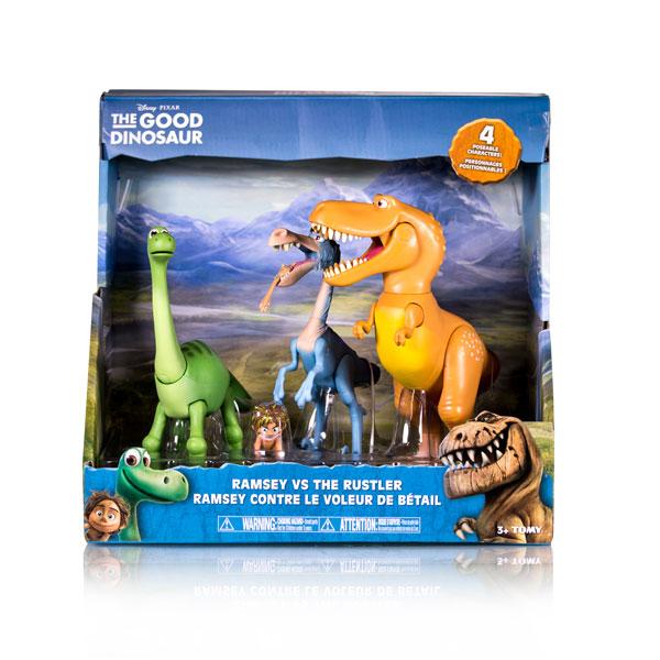 Good Dinosaur 62910 Хороший Динозавр Набор из 4-ех фигурок