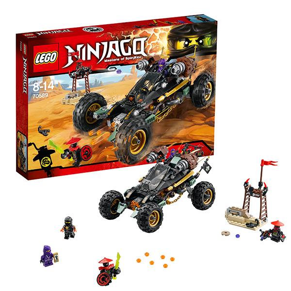Lego Ninjago 70589_9 Лего Ниндзяго Горный внедорожник