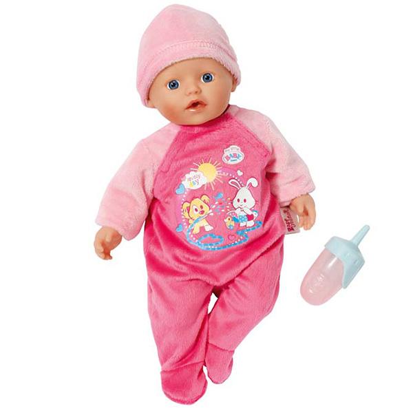 Zapf Creation Baby born 822-500 Бэби Борн my little BABY born Кукла быстросохнущая 32 см basiс baby штанишки my little captain