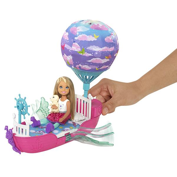 Mattel Barbie DWP59 Барби Волшебная кроватка Челси
