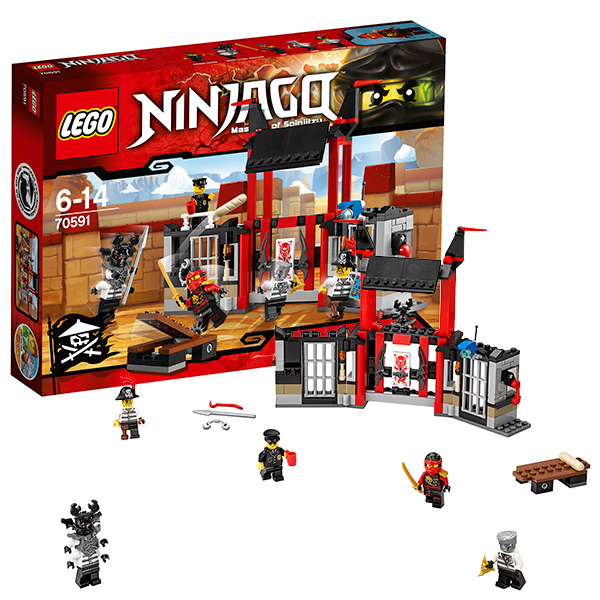 Lego Ninjago 70591_9 Лего Ниндзяго Побег из тюрьмы Криптариум