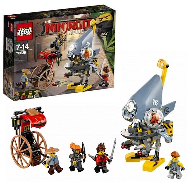 Lego Ninjago 70629 Конструктор Лего Ниндзяго Нападение пираньи lego конструктор lego ninjago 70629 нападение пираньи