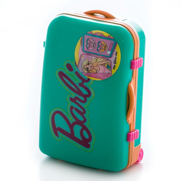 Markwins 9600251 Barbie Набор детской декоративной косметики в чемоданчике зеленый
