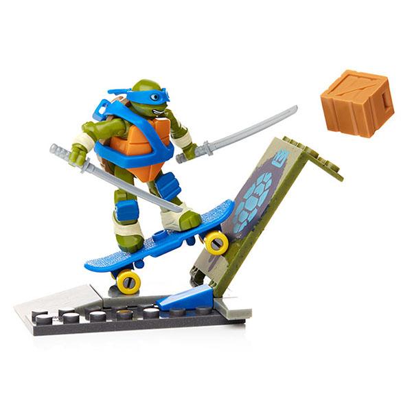 """Mattel Mega Bloks DPF59 Мега Блокс Игровой набор """"Тренировка черепашек"""""""