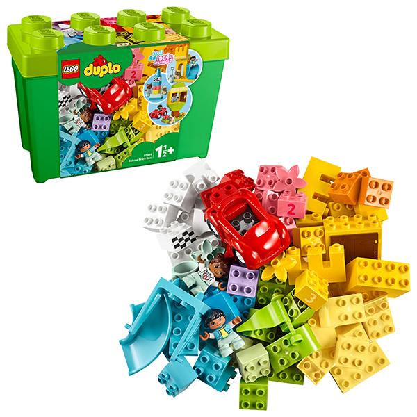 цена LEGO DUPLO 10914 Конструктор ЛЕГО ДУПЛО Большая коробка с кубиками онлайн в 2017 году