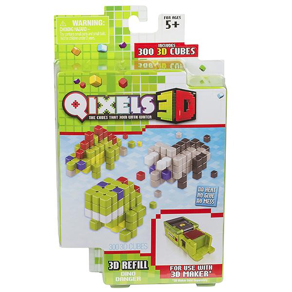Qixels 87098 Квикселс Дополнительные наборы для 3D Принтера (в ассортименте) набор для творчества qixels машинка для создания 3d фигурок 3d принтер