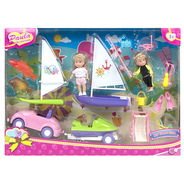 Paula MC23302 Игровой набор На пляж