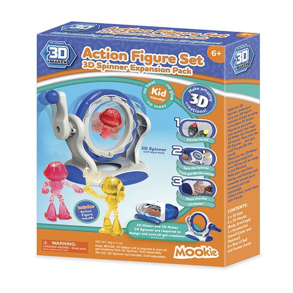 3D Magic 94001 Набор формочек 3D Maker Человечки 3d magic набор для создания объемных моделей 3d maker 81000